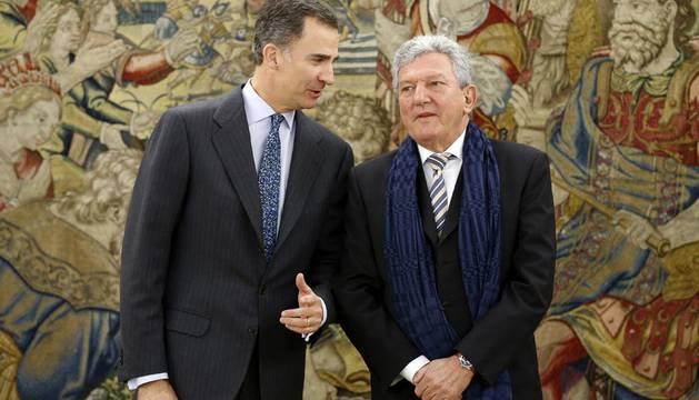 El Rey inaugura con el diputado de Nueva Canarias su ronda de consultas