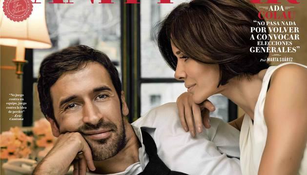 Raúl, en la portada de Vanity Fair.