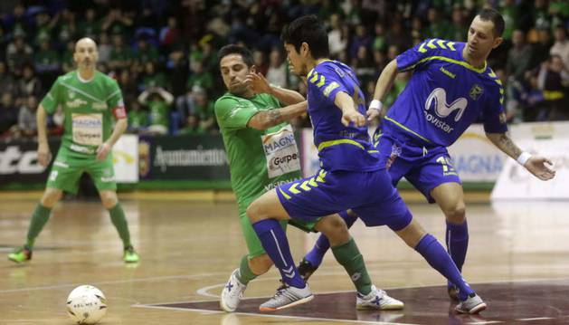 Jesulito, contra Movistar Inter.