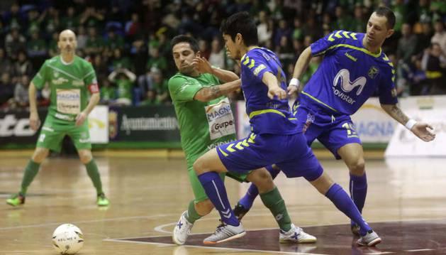 Jesulito, contra Movistar Inter.