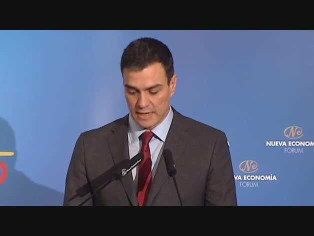 Sánchez asegura que no está negociando con Rajoy