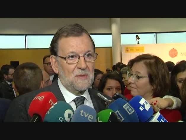 """Rajoy: """"Desde el sectarismo y la negación no se construye nada"""""""