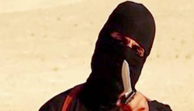 Captura de un vídeo del Estado Islamico con 'Jihadi John'.