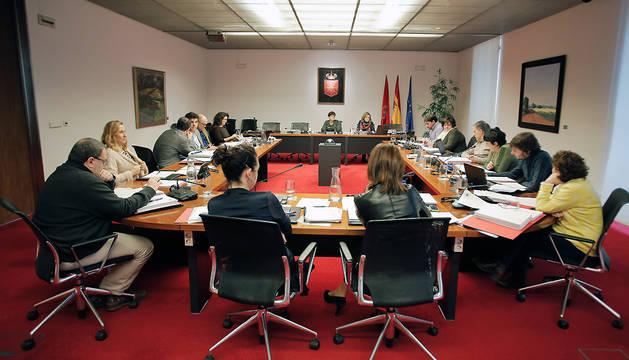 Reunión de la comisión de Hacienda y Política Financiera este miércoles.