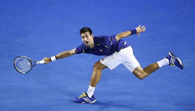 Novak Djokovic, en Australia.