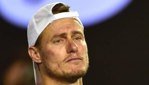 Hewitt, emocionado en su último partido.