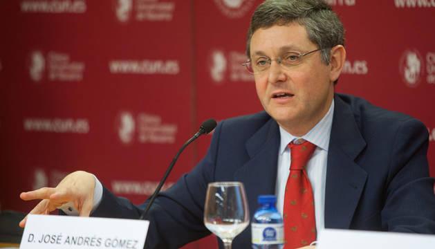 El director de la CUN, José Andrés Gómez Cantero.