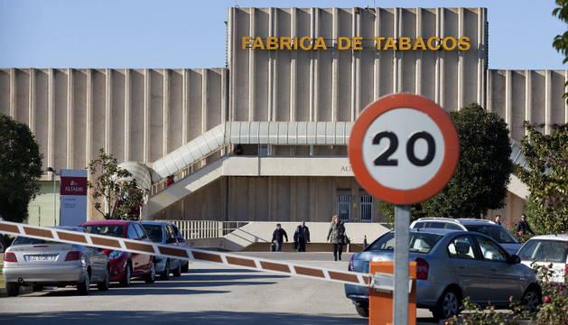 El cierre de la fábrica de Altadis en Logroño alcanza a trabajadores navarros