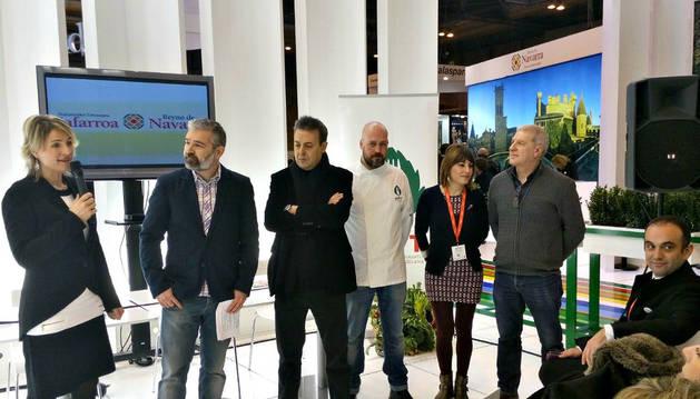 Tudela presenta en Fitur su riqueza gastronómica