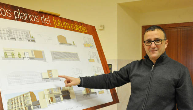 Un nuevo edificio acogerá en Escolapios de Tafalla a los alumnos de San José