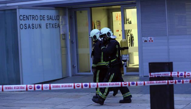 Reabren el Centro de Salud II de Barañáin tras un pequeño incendio