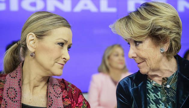 Esperanza Aguirre apuesta por un Gobierno con PP, PSOE y Ciudadanos