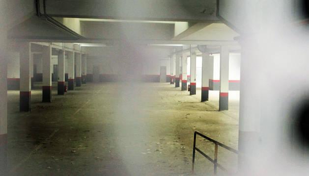 Apertura inminente del garaje de la calle Tafalla clausurado en 2008