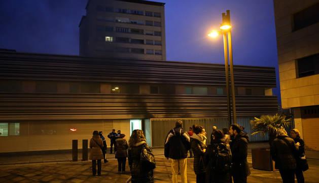 Cerrado el Centro de Salud II de Barañáin por un pequeño incendio