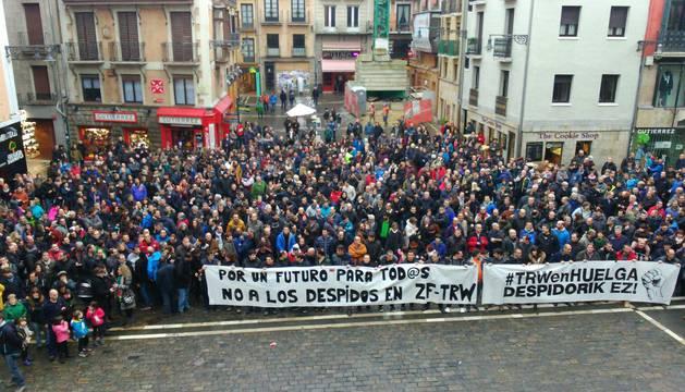 El Ayuntamiento de Pamplona recibirá el lunes al comité de TRW