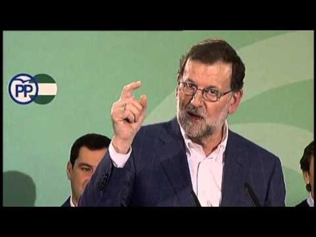 """Rajoy: """"Necesitamos un presidente con dignidad"""""""