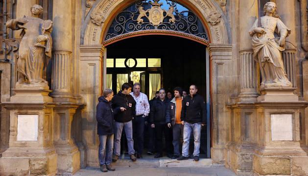 El comité de TRW agradece el respaldo del alcalde de Pamplona