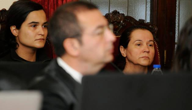 Triana Martinez y su madre, Monserrat González.