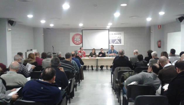 El consejo municipal del PSN apoya a los trabajadores afectados por ERE