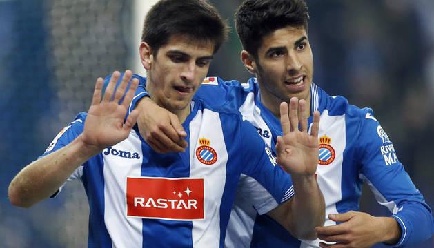 Gerard Moreno y Marcos Asensio.