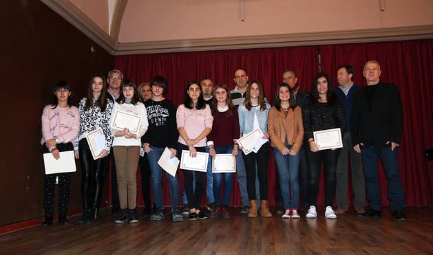 Tudela entrega los premios de sus concursos de cuentos y poesía