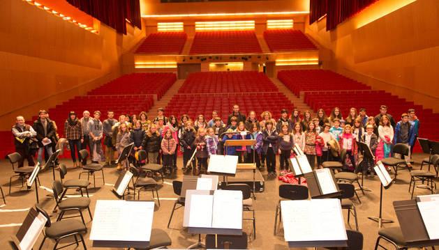 La escuela de música de Estella inaugura el 'Voy y vengo sinfónico'
