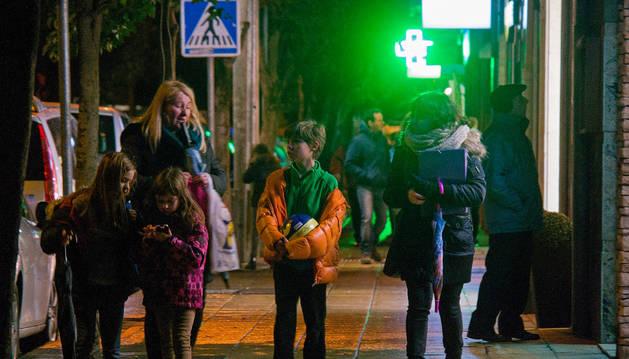 Preocupa en el comercio la pobre iluminación en el centro de Estella