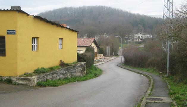 Un camino público ocupa un solar  particular en Alsasua desde 1996