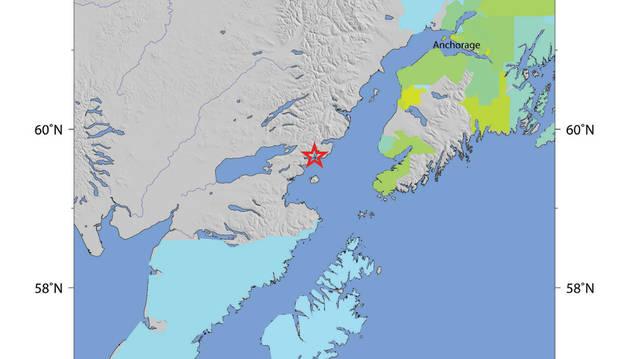 Un terremoto de 7,1 sacude la costa del sur de Alaska