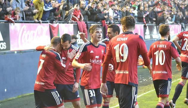 El equipo rojillo se ha impuesto con goles de Nino, Álex Berenguer y Maikel Mesa.