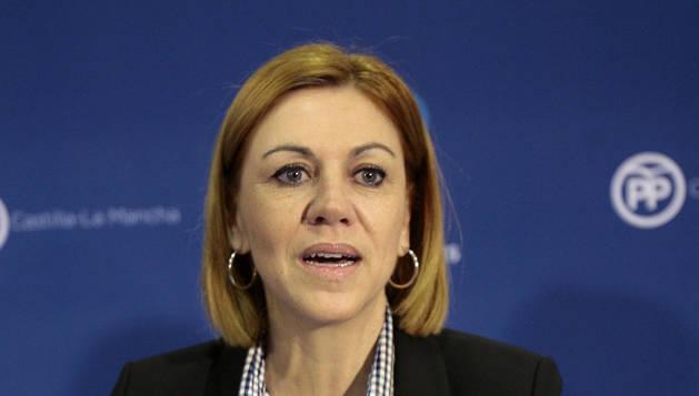 Cospedal pide generosidad a PSOE y Ciudadanos para llegar a acuerdos
