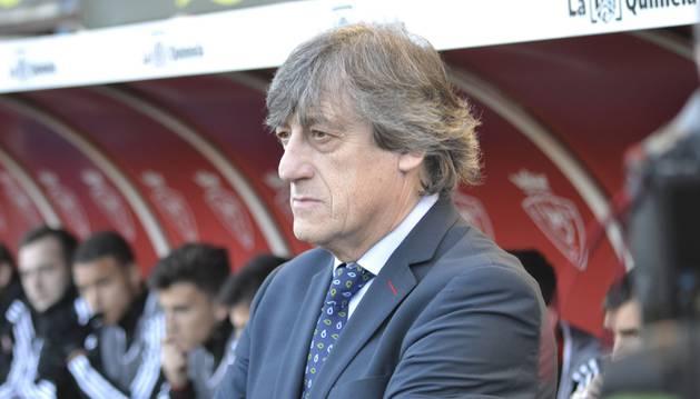Enrique Martín Monreal, entrenador de Osasuna.