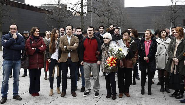 Instituciones, partidos y ciudadanos recuerdan a Gregorio Ordóñez