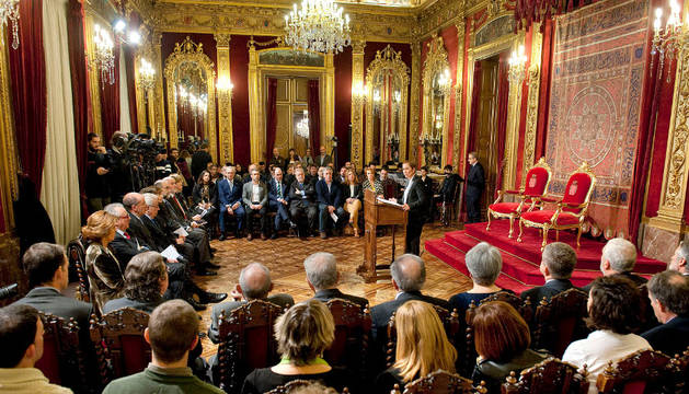 La Presidenta Barkos y el secretario de Estado de Administraciones Públicas coinciden en destacar que se trata de un sistema económico solidario