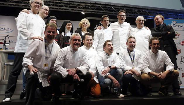 Carmena, en la inauguración de la decimocuarta Cumbre internacional de gastronomía Madrid Fusión.