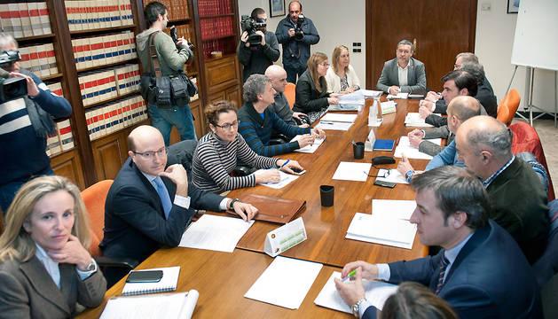 Reunión de constitución del nuevo consejo de gobierno del SNE.
