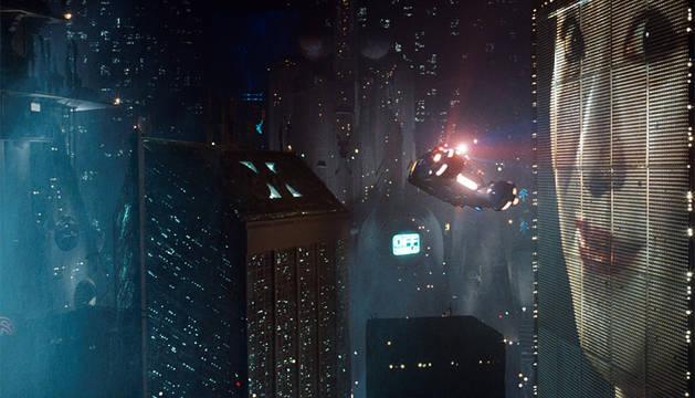 Una escena  de 'Blade Runner'.