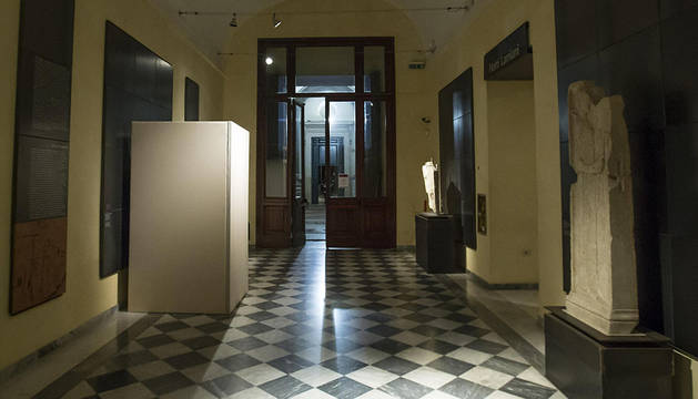 Interior de los Museos Capitolinos.