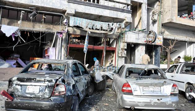 Más de 20 muertos por un doble atentado en la ciudad siria de Homs