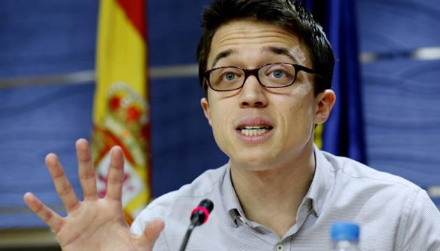 El número dos de Podemos, Íñigo Errejón.