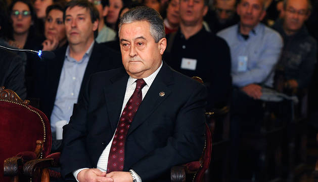 El inspector de Policía Pablo Antonio Martínez, durante el juicio.