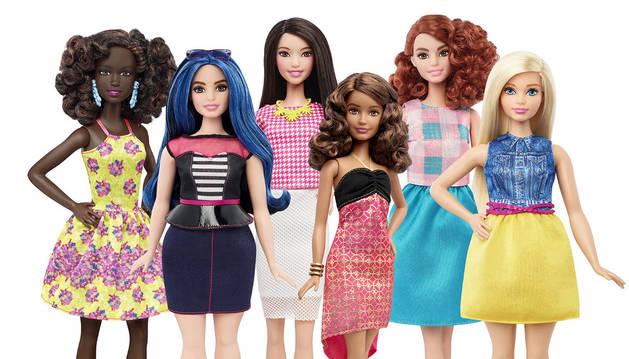 La Barbie del mundo real: alta, con curvas o bajita