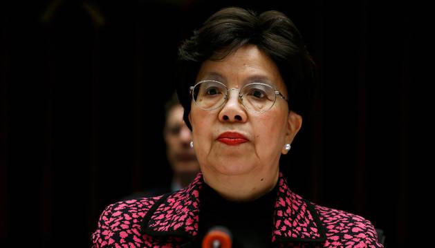 La directora general de la Organización Mundial de la Salud, Margaret Chan.