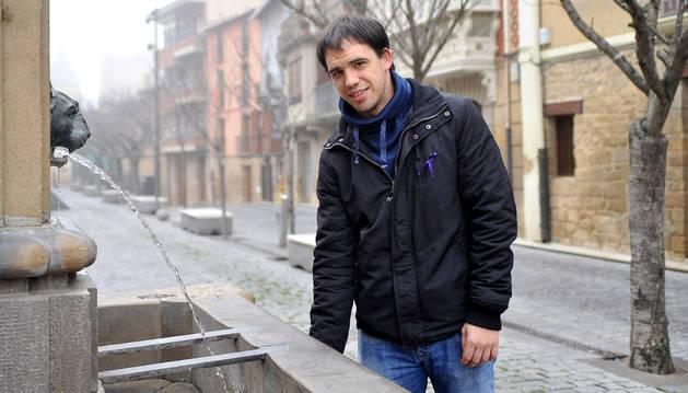 El presidente del Consorcio de Desarrollo de la Zona Media, Alejandro Antoñanzas Salvo.
