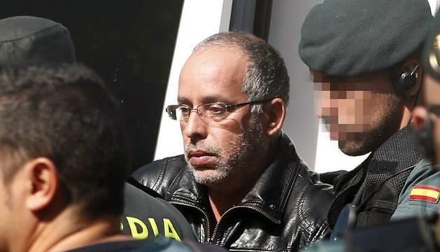 Fotografía de archivo de Ahmed Chelb, presunto autor del crimen de Eva Blanco, asesinada en Algete (Madrid) el 20 de abril de 1997.