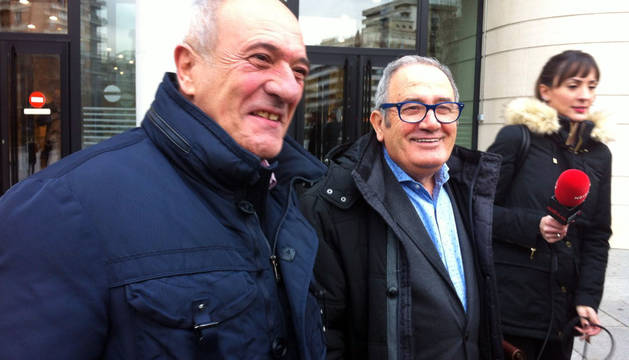 Sabalza e Ibero llegan juntos a declarar por el caso Koné