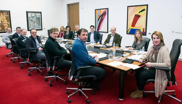 Reunión de la Mesa y Junta de Portavoces de este viernes.