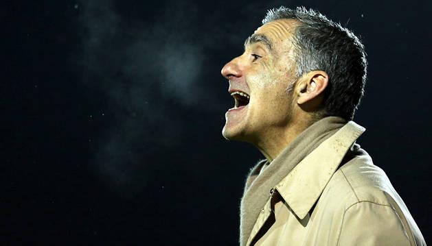 Carlos Terrazas, entrenador del Mirandés.
