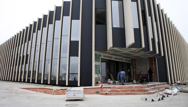 Imagen exterior de las instalaciones que Electrodomésticos Jata está a punto de finalizar.