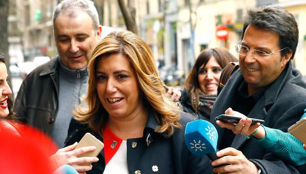 Susana Díaz dice estar